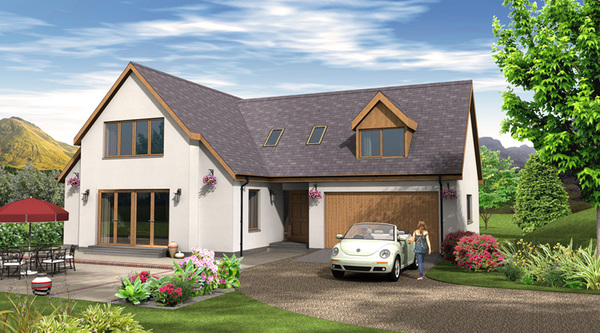 Image gallery home self build kits for Kit build homes