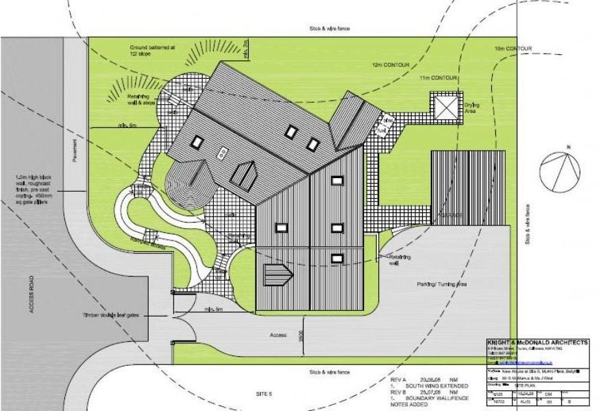 Seabreezes plan drawing seabreezes building plot for sale for Plot plan drawing