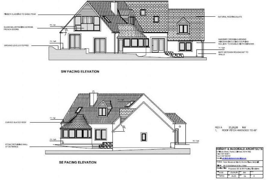 Plan Elevation Questions : Seabreezes building plot for sale newbuild bedroom